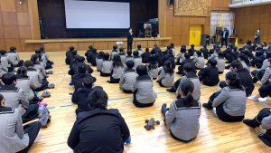 【翔凜中学校】進路講演会が行われました。